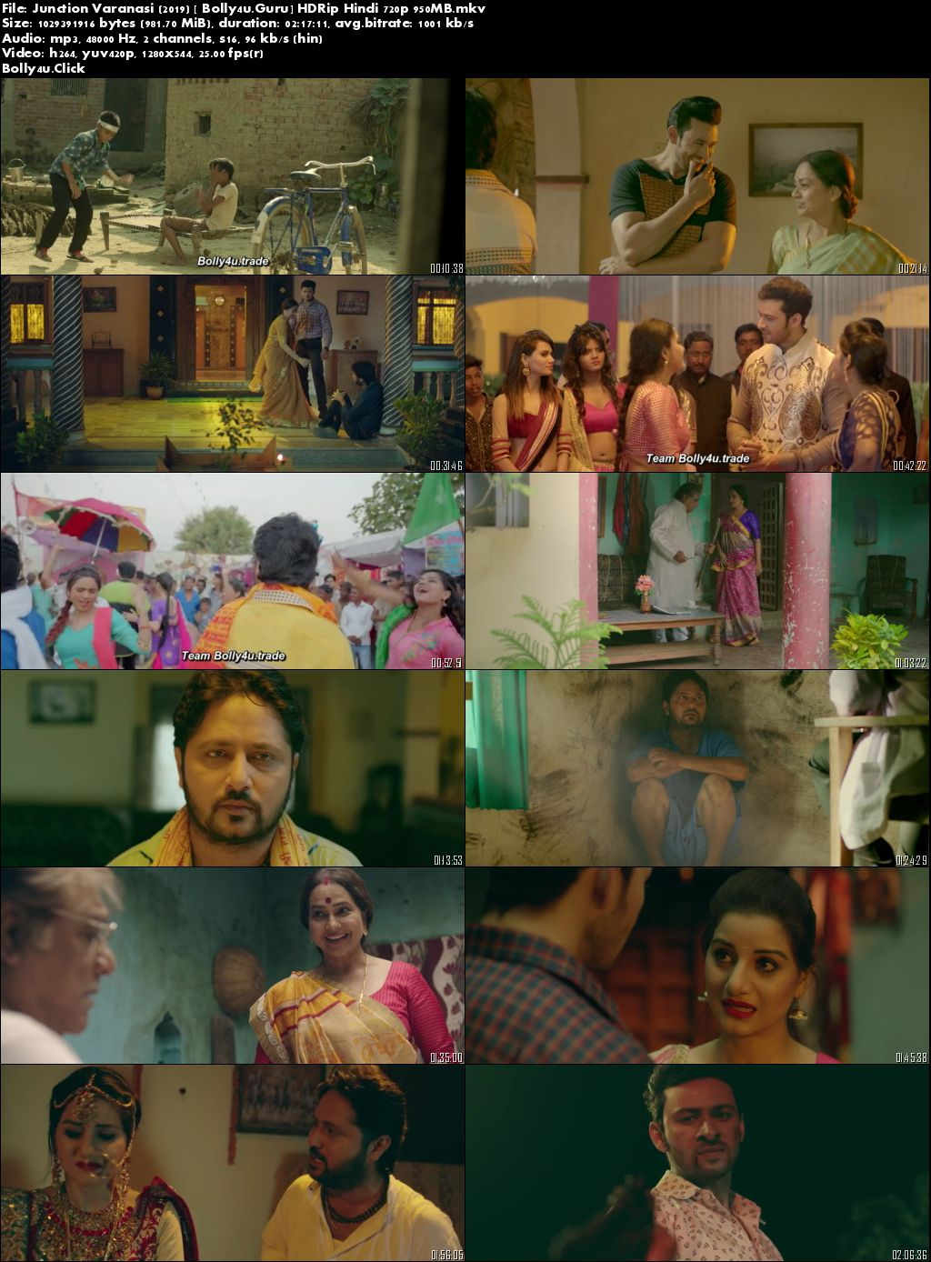 Junction Varanasi 2019 WEB-DL 950Mb Hindi 720p Download