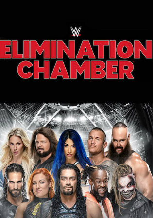 WWE Elimination Chamber 2020 PPV WEBRip 850MB 480p