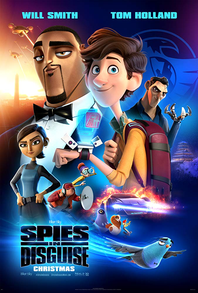 Spies in Disguise 2019 BluRay 300MB Hindi Dual Audio 480p Esubs