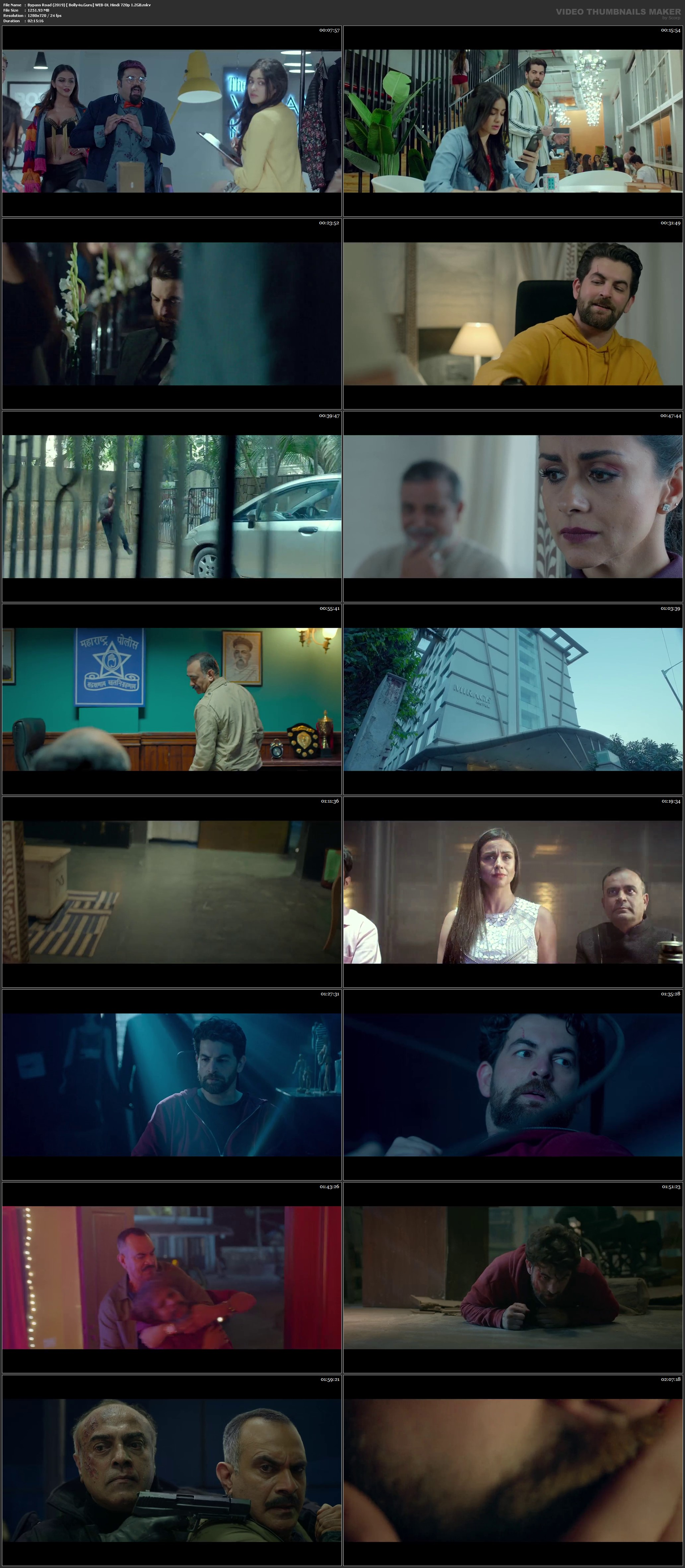 Bypass Road 2019 WEB-DL 1.2Gb Full Hindi Movie Download 720p
