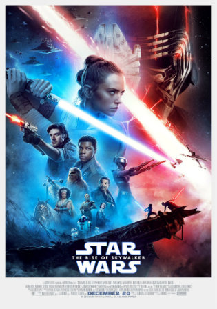Star Wars The Rise Of Skywalker 2019 WEB-DL 450MB Hindi Dual Audio 480p