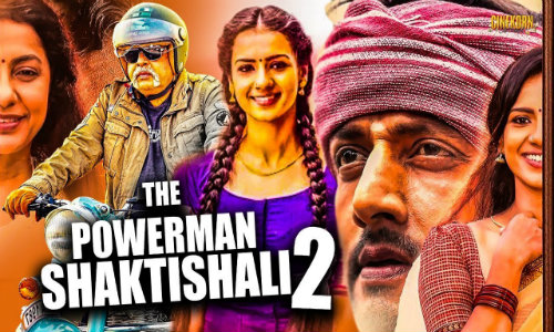 The Powerman Shaktishali 2 2020 HDRip 300Mb Hindi Dubbed 480p