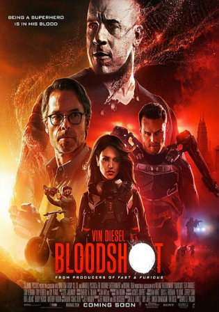 Bloodshot 2020 WEB-DL 300Mb English 480p