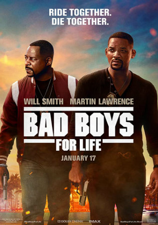 Bad Boys For Life 2020 HDRip 950Mb Hindi Dual Audio 720p Watch Online Full Movie Download bolly4u