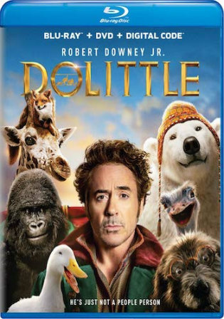Dolittle 2020 BRRip 300Mb English 480p ESub