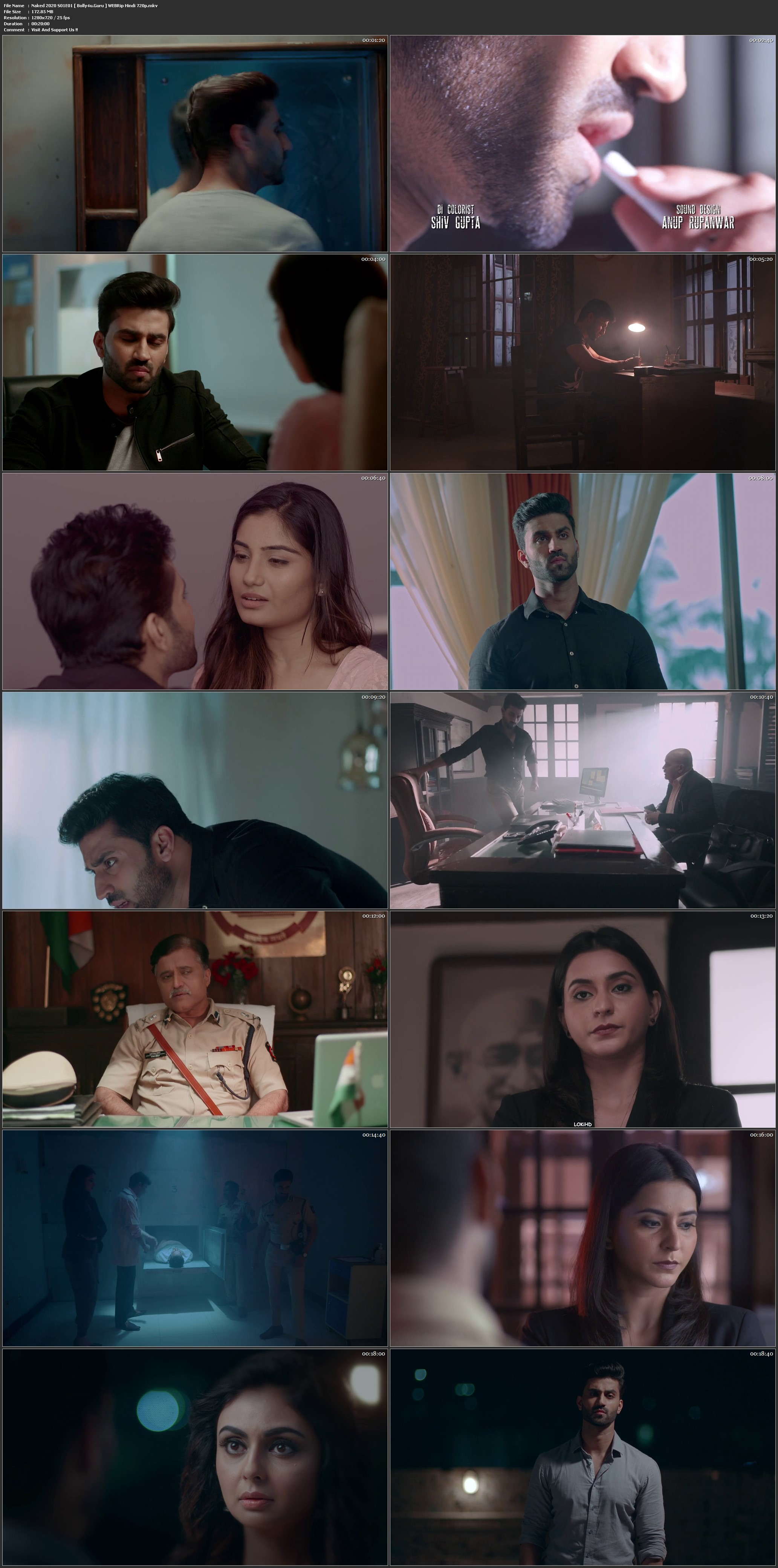 Naked 2020 WEBRip 1.6Gb Hindi Complete S01 Download 720p