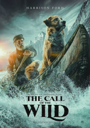 The Call of The Wild 2020 WEB-DL 300Mb Hindi Dual Audio 480p