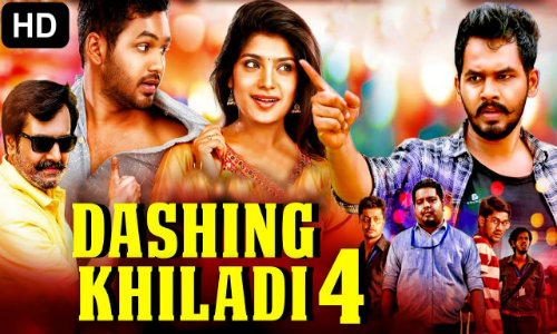 Dashing Khiladi 4 2020 HDRip 800Mb Hindi Dubbed 720p