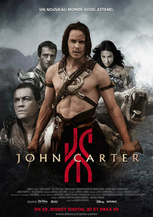John Carter 2012 Hindi BRRip 720p & 480p Dual Audio [ हिंदी + English] | Full Movie