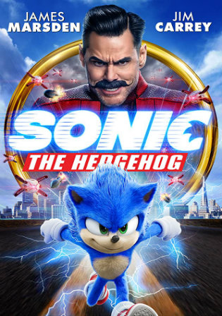 Sonic The Hedgehog 2020 WEBRip 300Mb English 480p ESubs Watch Online Full Movie Download bolly4u