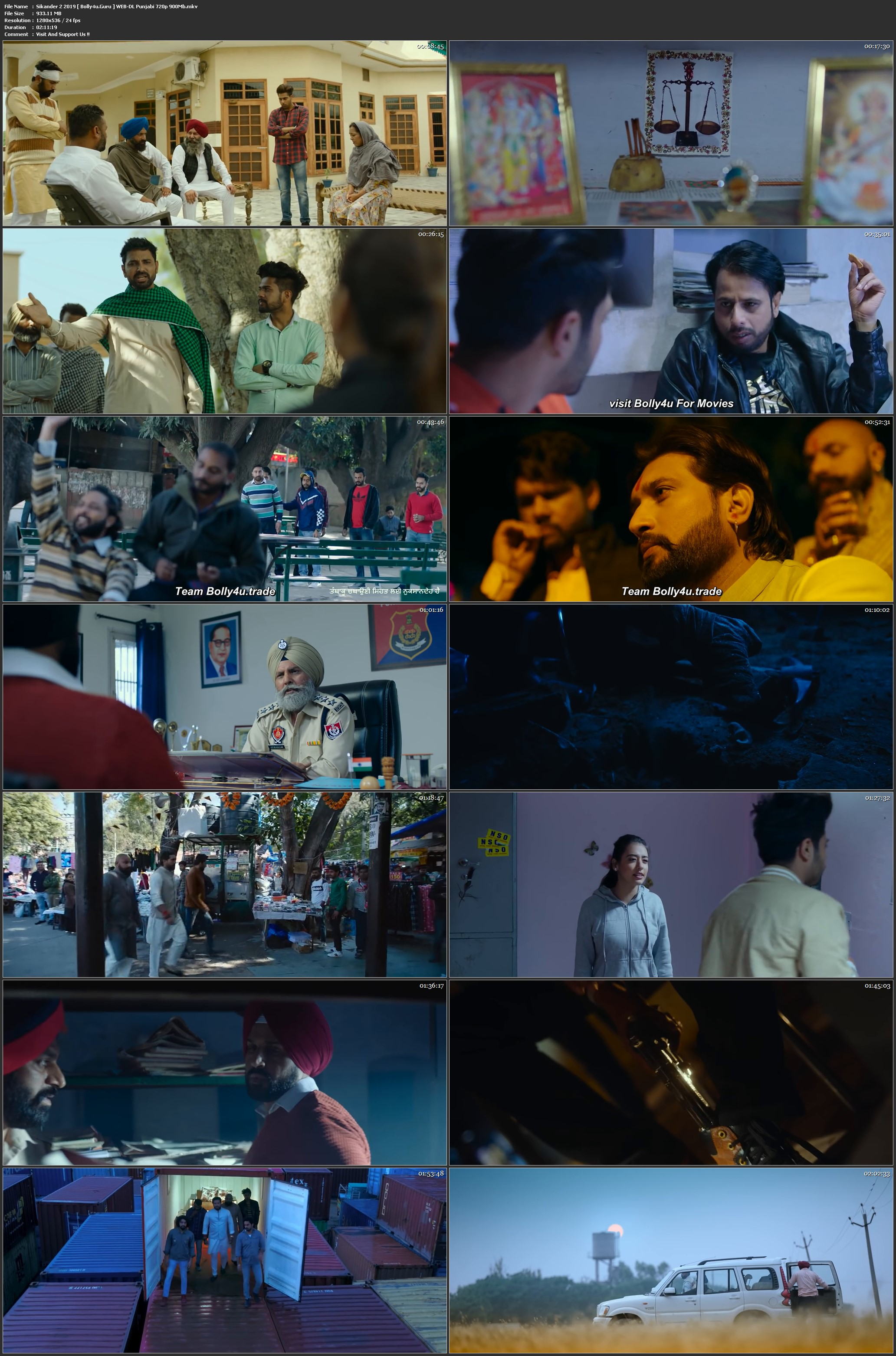 Sikander 2 2019 WEB-DL 400Mb Punjabi 480p Download