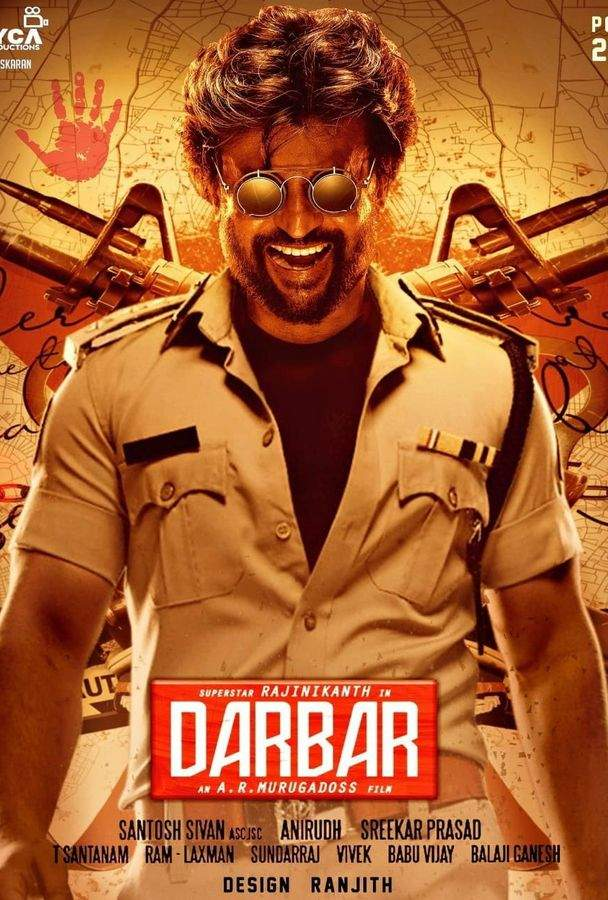 Darbar (2020) Hindi WEB-HD Dual Audio 1080p 720p 480p [Hindi (ORG 2.0) + Tamil] ESubs | Full Movie