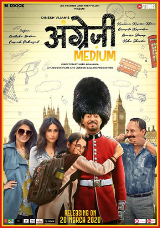 Angrezi Medium 2020 WEB-DL 400MB Hindi 480p ESub