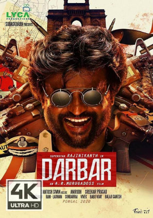 Darbar 2020 WEB-DL 450MB Hindi ORG 480p