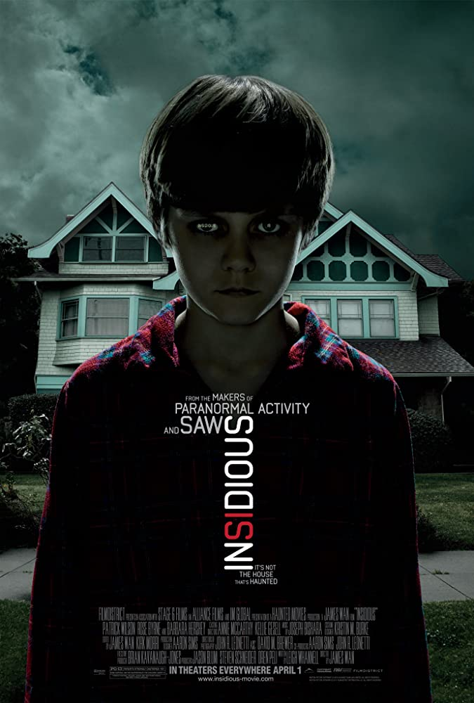 Insidious (2010) Hindi BRRip 720p & 480p Dual Audio [ हिंदी + English] | Full Movie