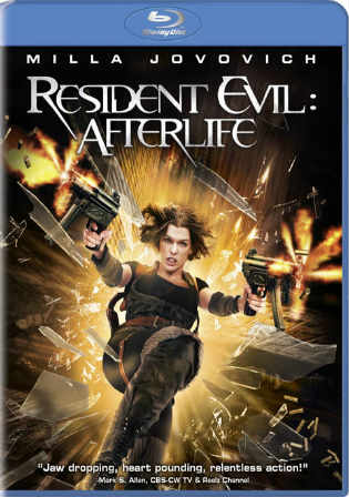 Resident Evil Afterlife 2010 BluRay 300Mb Hindi Dual Audio ORG 480p