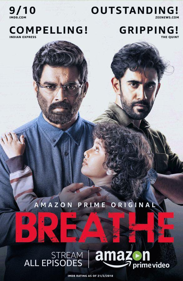 Breathe (Season 1) Complete [Hindi DD5.1] WEB-DL 480p 720p 1080p [ALL Episodes] | Prime Series