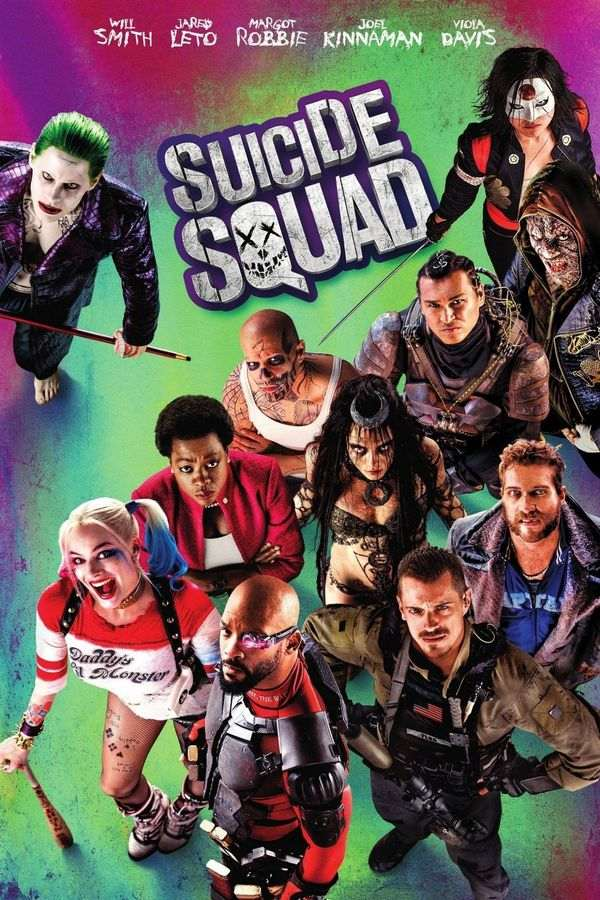 Suicide Squad (2016) [Extended BLuRay] 1080p 720p 480p English DD5.1 + Hindi (Subs) | Full Movie