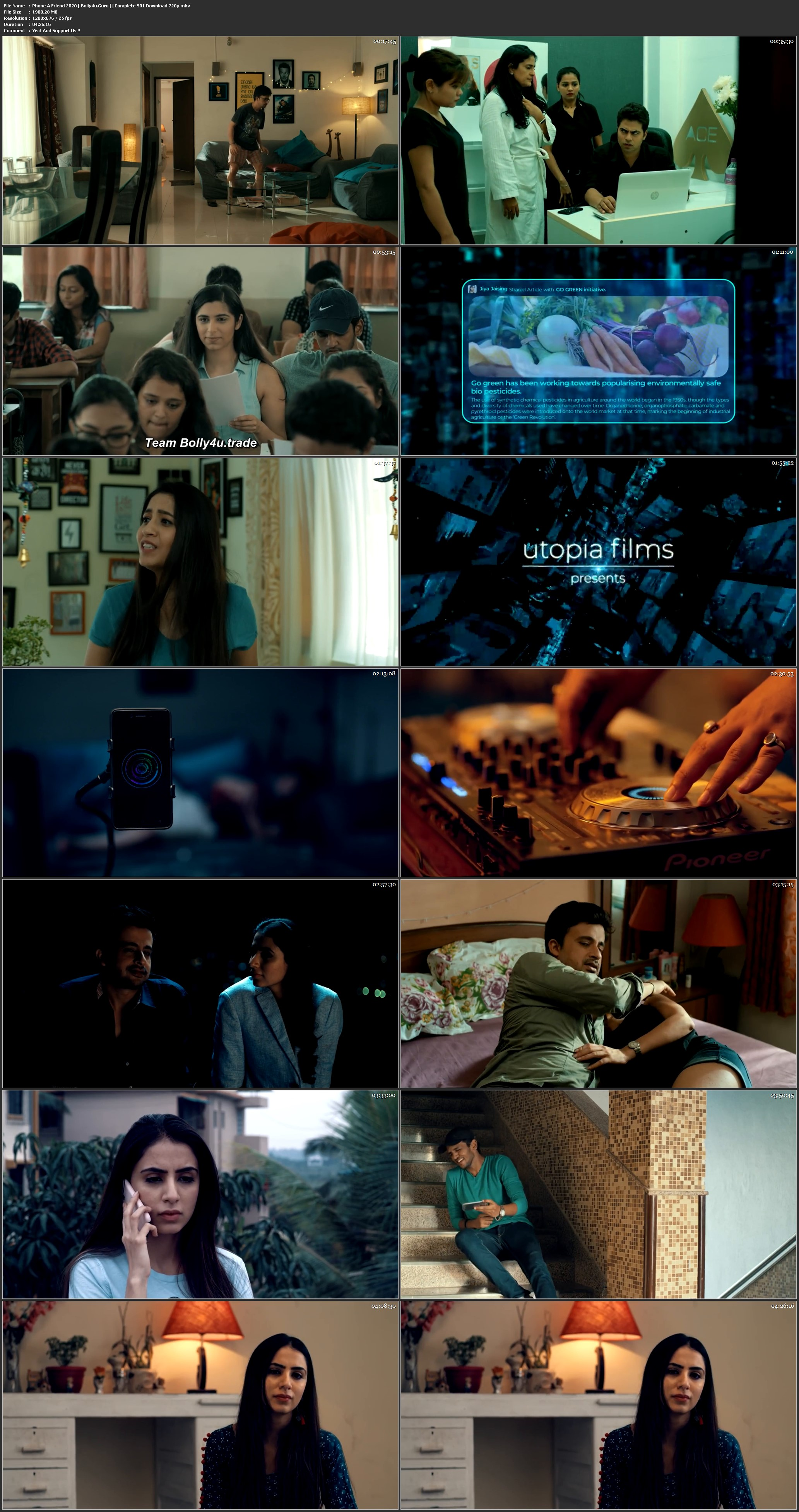 Phone A Friend 2020 WEB-DL 1.8GB Hindi Compelet S01 Download 720p