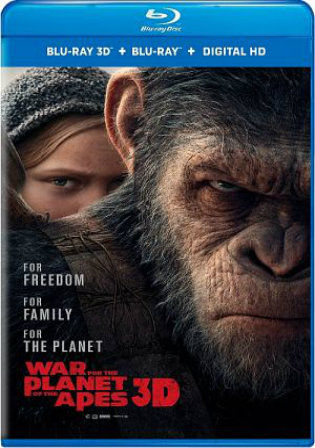 War For The Planet Of The Apes 2017 BRRip 450MB Hindi Dual Audio ORG 480p
