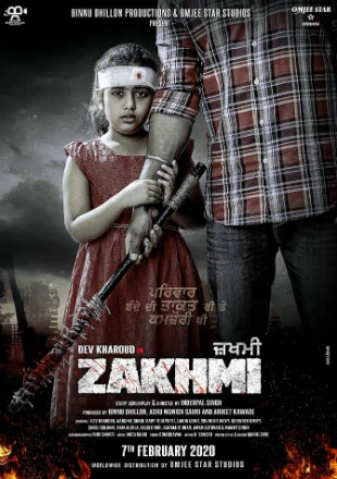 Zakhmi 2020 HDTV 400Mb Punjabi 480p Watch Online Full Movie Download bolly4u