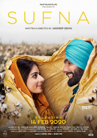 Sufna 2020 WEBRip 400Mb Punjabi 480p Watch Online Full Movie Download bolly4u