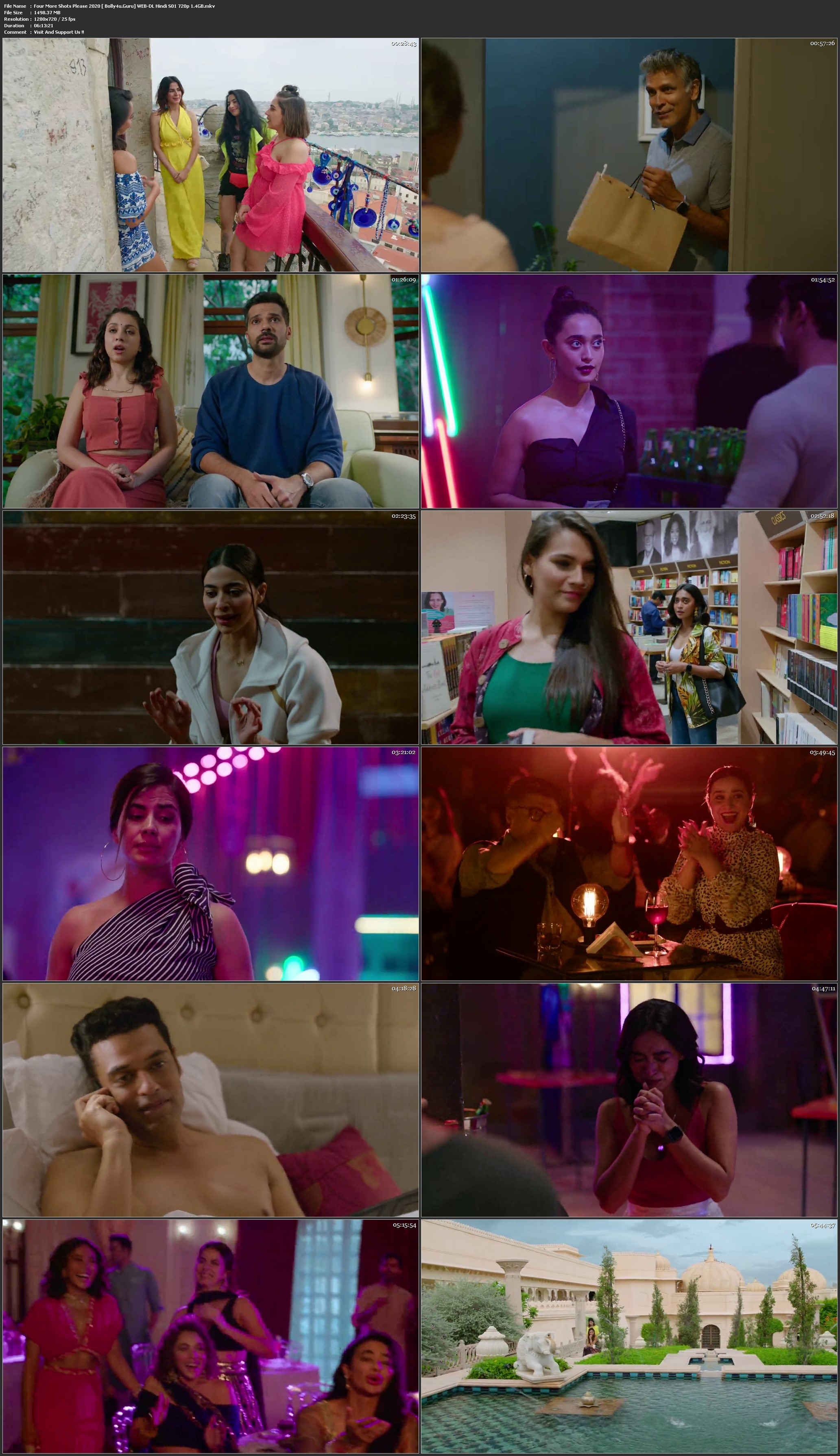 Four More Shots Please 2020 WEB-DL 1.4GB Hindi S02 Download 720p