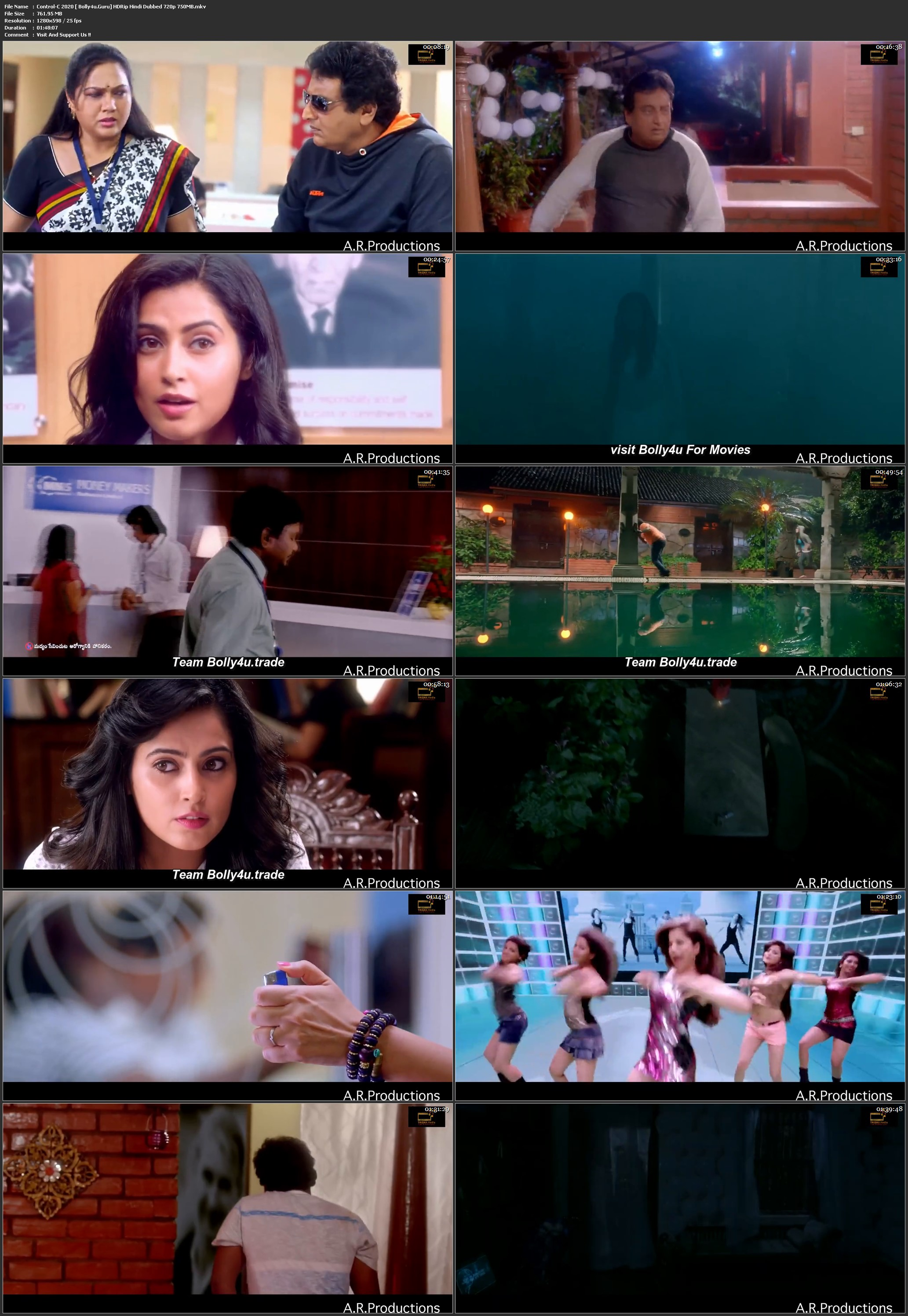 Control-C 2020 HDRip 750Mb Hindi Dubbed 720p Download