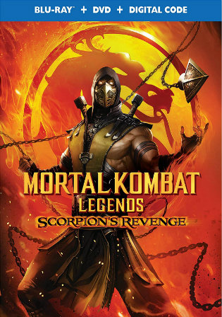 Mortal Kombat Legends Scorpions Revenge 2020 BRRip 270MB English 480p ESub