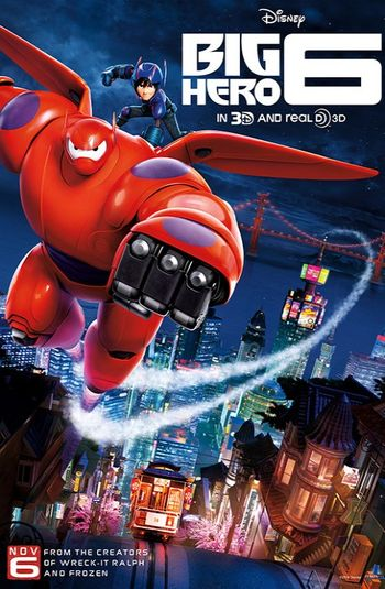 Big Hero 6 (2014) Hindi BluRay 720p & 480p Dual Audio [ हिंदी + English] | Full Movie