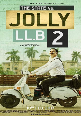 Jolly LLB 2 2017 BluRay 400Mb Full Hindi Movie Download 480p