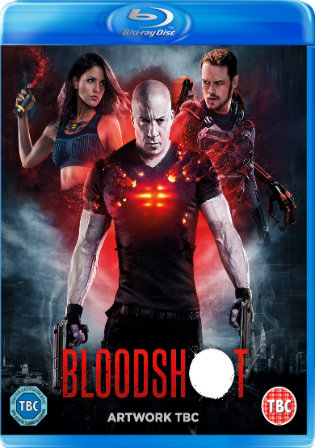 Bloodshot 2020 BRRip 300MB English 480p ESub