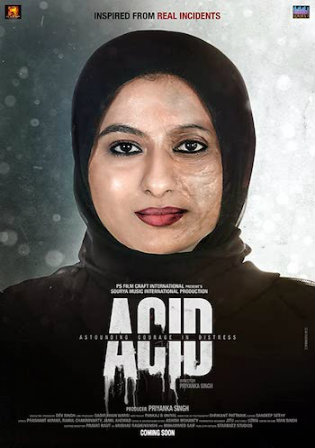 Acid Astounding Courage In Distress 2020 HDRip 300Mb Hindi 480p