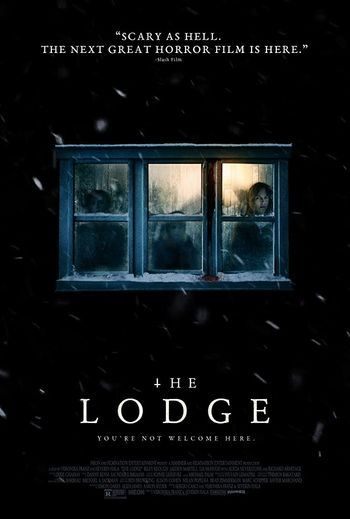 The Lodge (2019) English WEBRip 720p [Hindi (Subs)] | Full Movie