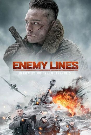 Enemy Lines (2020) English WEBRip 720p [Hindi (Subs)] | Full Movie