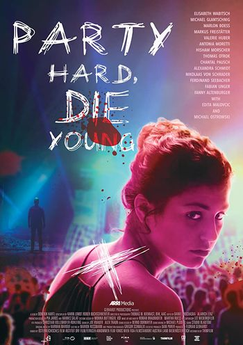 Party Hard Die Young (2018) English WEBRip 720p [Hindi (Subs)] | Full Movie