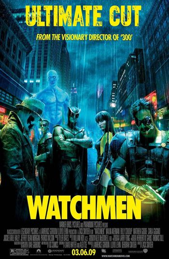 WatchMen (2009) [Ultimate Cut] BluRay 1080p 720p 480p Dual Audio [ हिंदी DD5.1 & English] | Full Movie