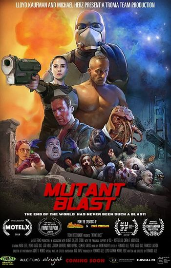 Mutant Blast (2018) Hindi Subtitles 720p WEB-DL [In English] Full Movie Free Download