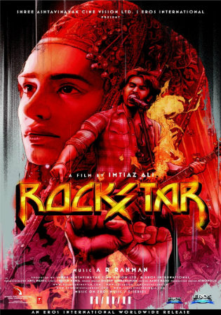 Rockstar 2011 BluRay 1.1GB Full Hindi Movie Download 720p