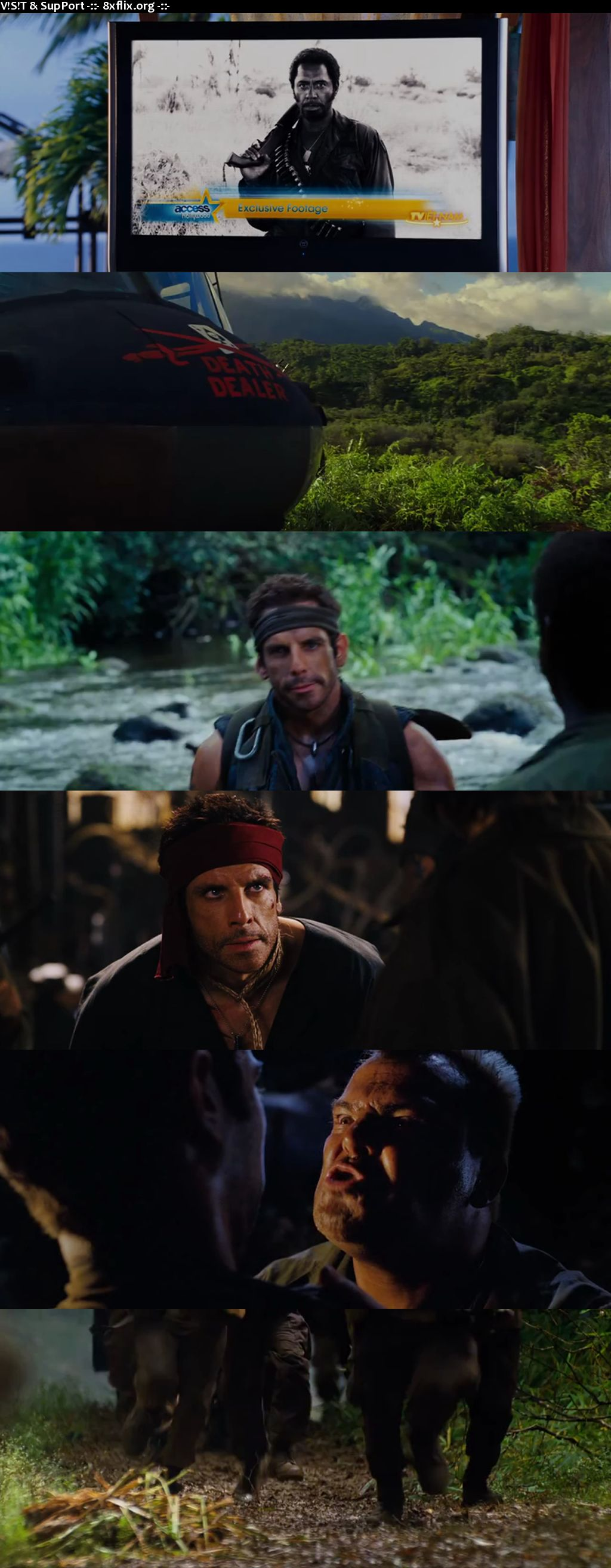 Tropic Thunder 2008 Hindi English Dual Audio 720p 480p BluRay