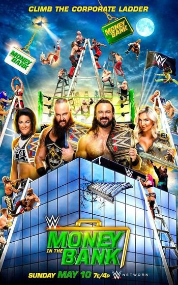 WWE Money In The Bank (2020) PPV WEBRip 720p & 480p x264 | Full Show