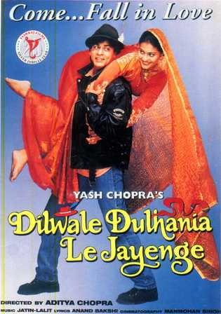 Dilwale Dulhania Le Jayenge 1995 BRRip 1.3GB Hindi 720p