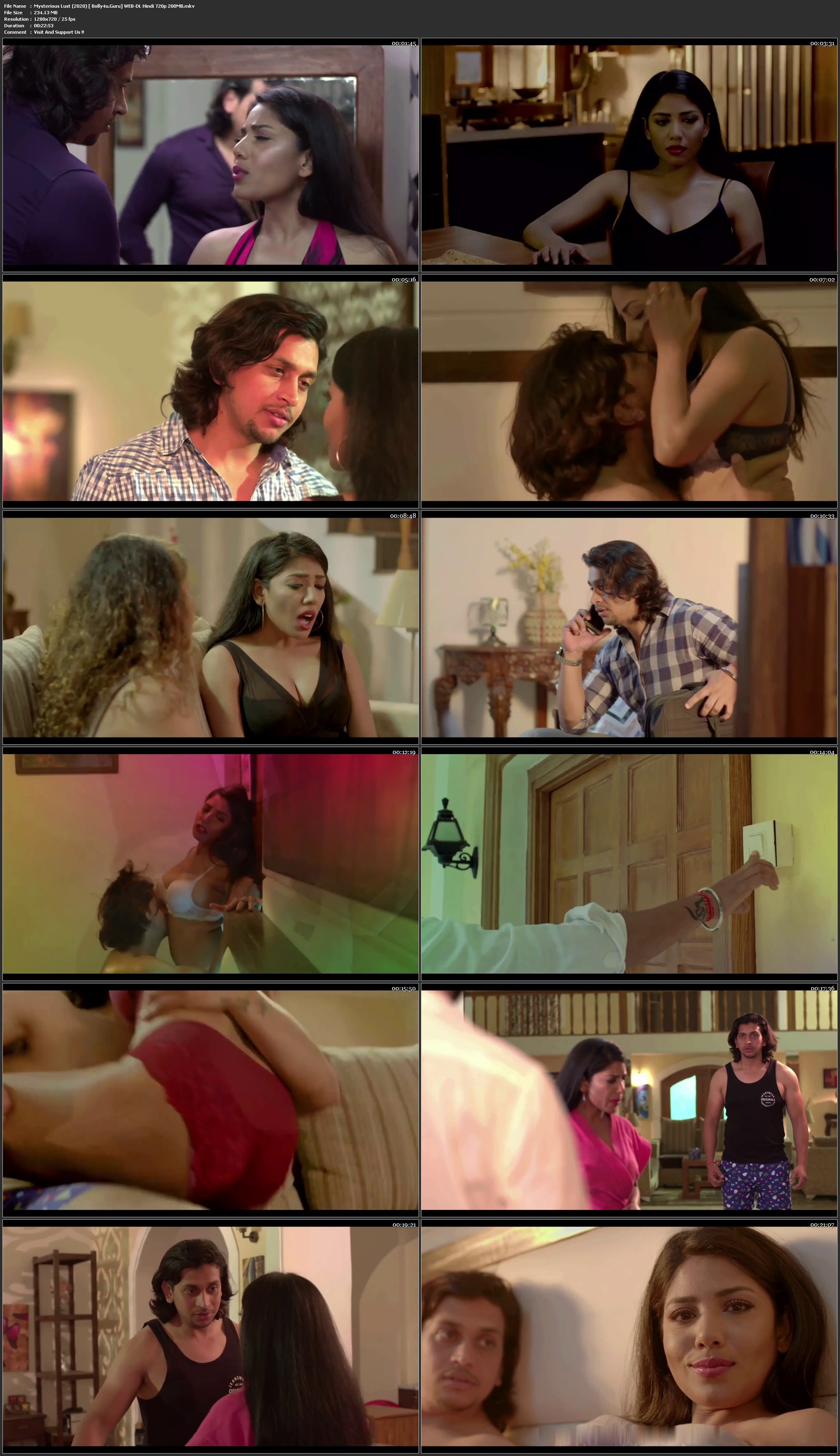 Mysterious Lust 2020 WEB-DL 200Mb Hindi 720p Download