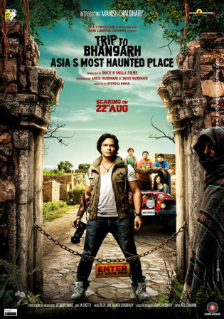 Trip To Bhangarh Asias Most Haunted Place 2014 WEB-DL 300Mb Hindi 480p