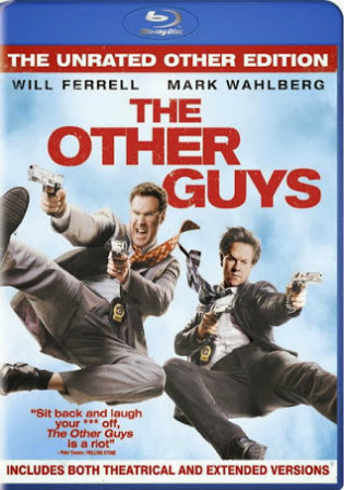 The Other Guys 2010 BRRip 900MB Hindi Dual Audio 720p