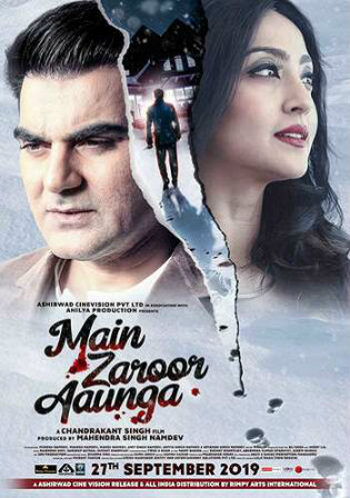 Main Zaroor Aunga 2019 WEBRip 280Mb Full Hindi Movie Download 480p