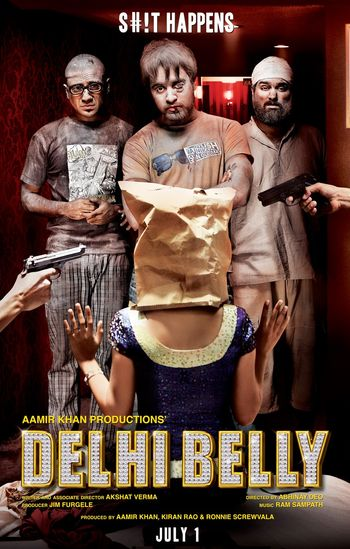 Delhi Belly (2011) Hindi WEBRip 720p & 480p x264 | Full Movie