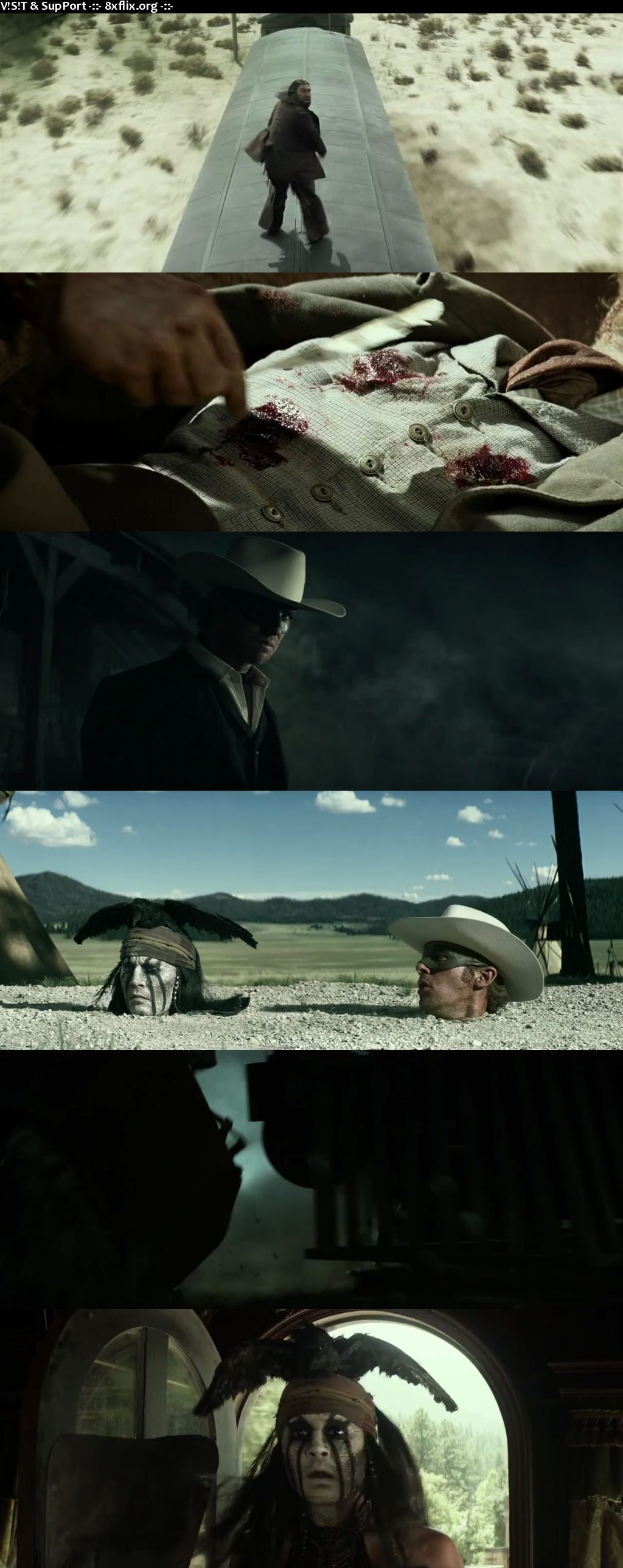 The Lone Ranger 2013 Hindi English Dual Audio 720p 480p BluRay