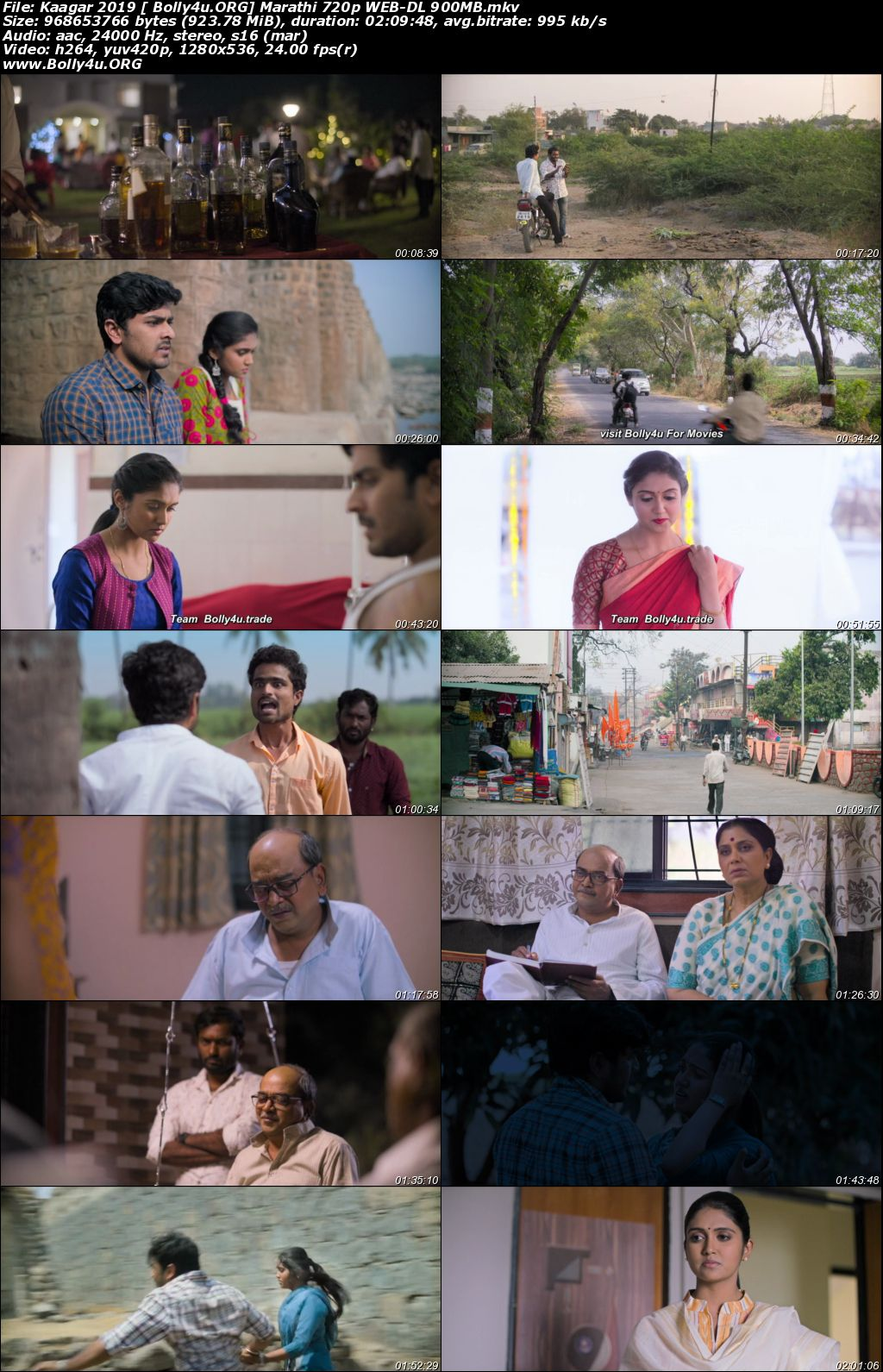Kaagar 2019 WEB-DL 900MB Marathi 720p Download