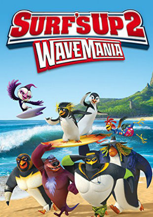 Surfs Up 2 WaveMania 2017 WEB-DL 280Mb Hindi Dual Audio 480p Watch Online Full Movie Download bolly4u
